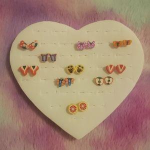 🛍5/$25 cute earrings lot nwot